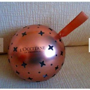L'Occitane Holiday Ornament w/ 3 Products NEW